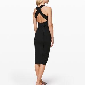 Lululemon Picnic Play Dress Black Sz 4 EUC